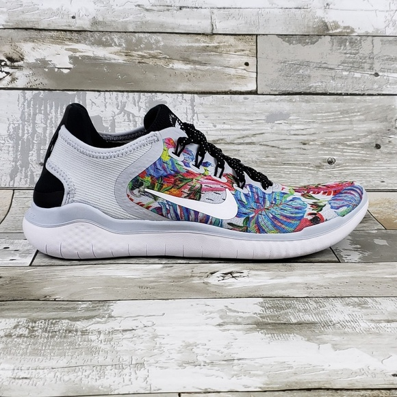 quality design f1d10 7daaf Nike Free RN 2018 GPX RS Womens Floral Shoes